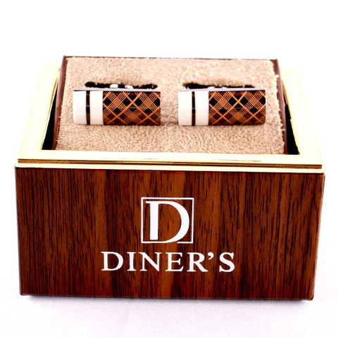 Diner's Luxury Cufflinks In Multy SKU: KA194-Multy