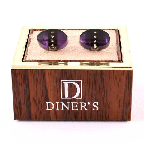 Diner's Luxury Cufflinks In Multy SKU: KA195-Multy