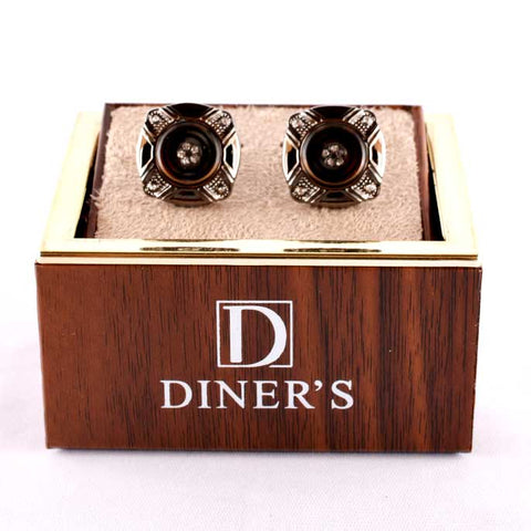 Diner's Luxury Cufflinks In Multy SKU: KA197-Multy