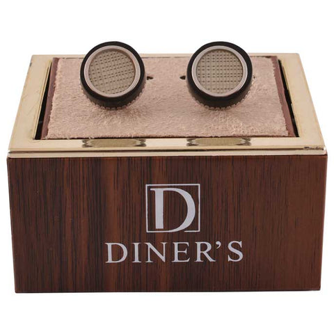 Diner's Luxury Cufflinks In Multy SKU: KA242-Multy