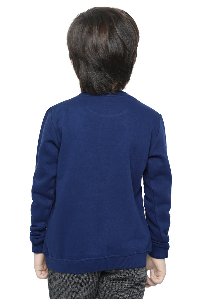 Boys Sweat Shirt In Navy SKU: KBA-0204-NAVY - Diners