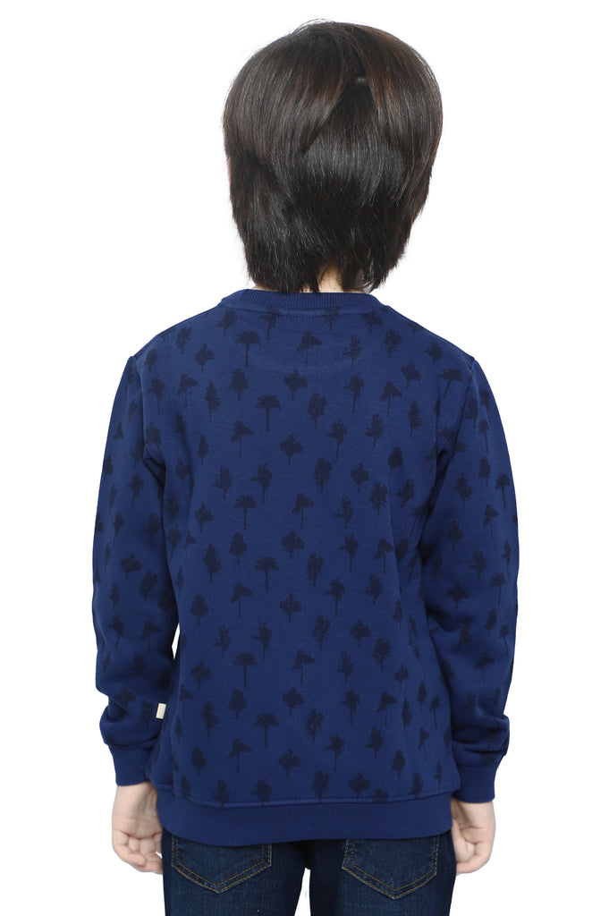 Boys Sweat Shirt In Navy SKU: KBA-0207-NAVY - Diners