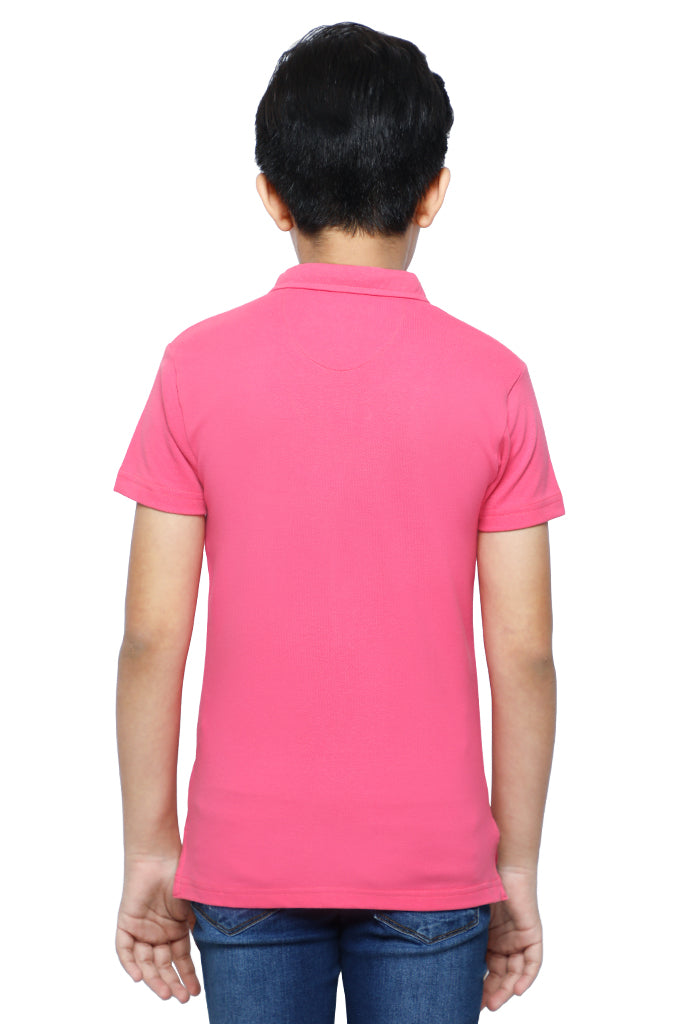 Boys T-Shirt In Pink KBA-0248-PINK - Diners