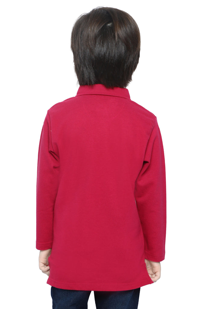 Boys Sweat Shirt In Pink SKU: KBA-0252-PINK - Diners