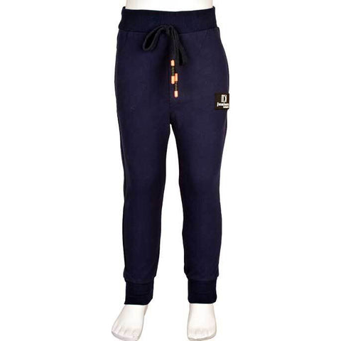 Trouser For Kids In Navy SKU: KBC-0138-NAVY