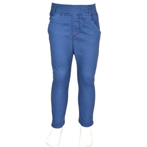 Trouser For Kids In Blue SKU: KBC-0145-BLUE