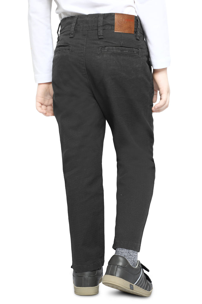 Trouser For Kids In D-Grey SKU: KBC-0356-D-GREY - Diners