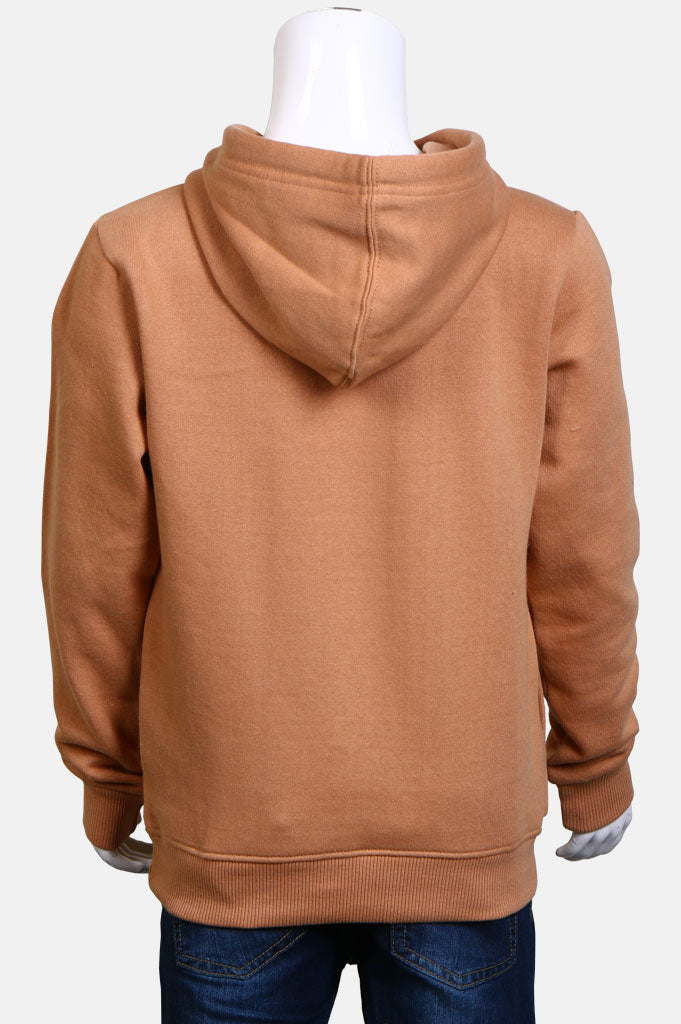 Boys Hoodies In Beige SKU: KBI0013-Beige
