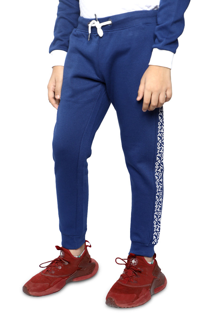 Trouser For Kids In Navy SKU: KBO-0019-NAVY