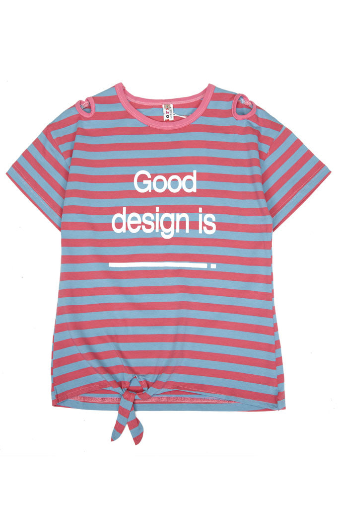 T-Shirt For Girls In Red SKU: KGA0164-Red - Diners
