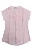 Girls Shirts In SKU: KGB0035-Peach