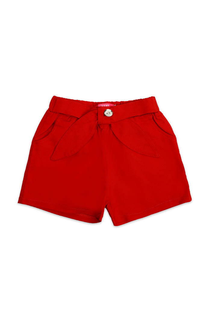 Girls Short SKU: KGD-0003-Red