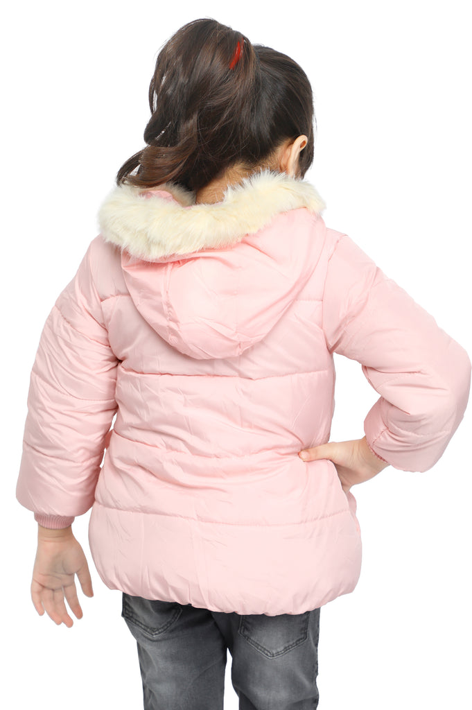 Jackets For Girls In Pink SKU: KGF-0106-PINK - Diners