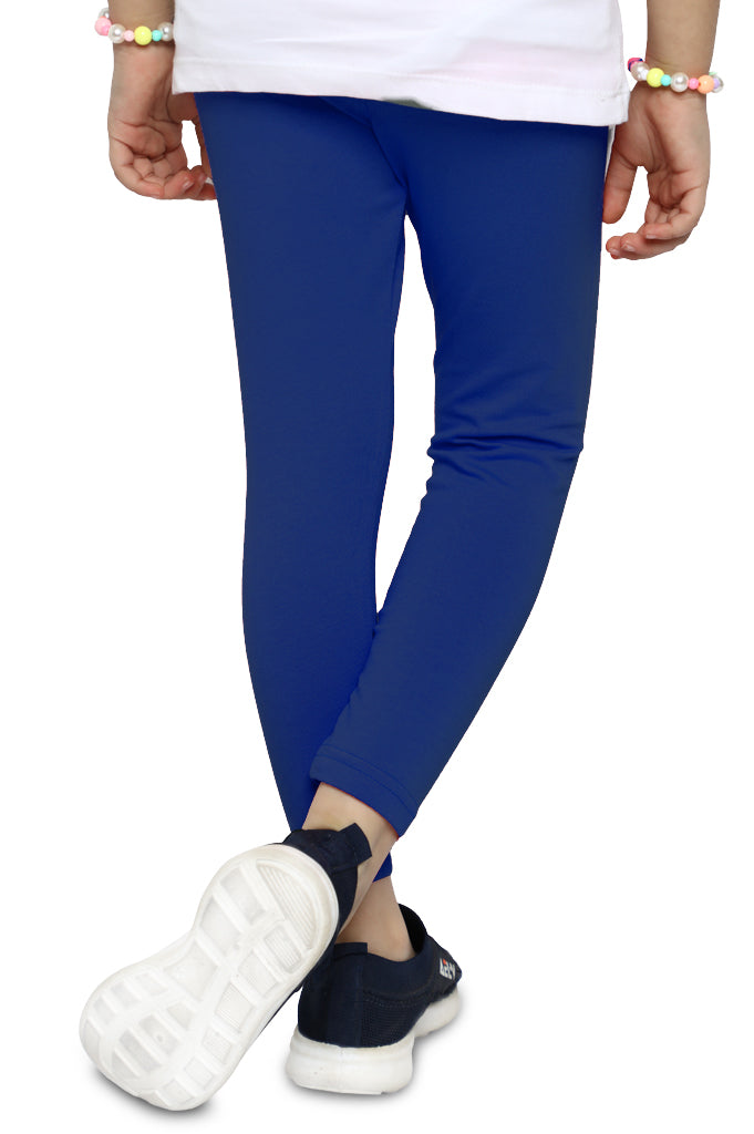 Tights For Girls In Navy SKU: KGT-0028A-NAVY