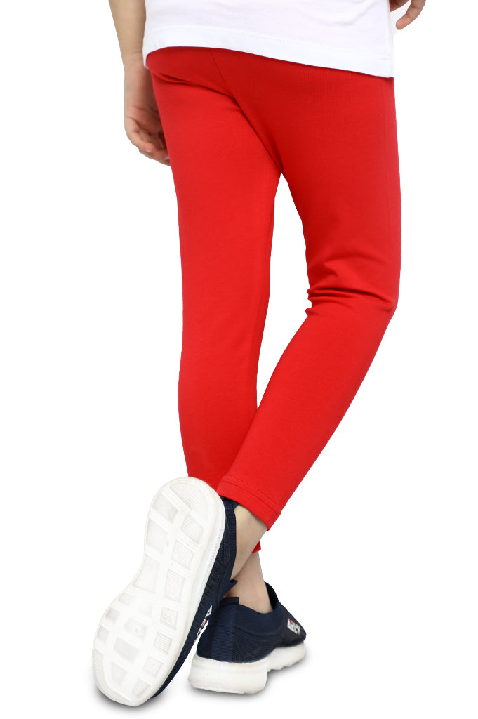 Tights For Girls In Red SKU: KGT-0028A-RED