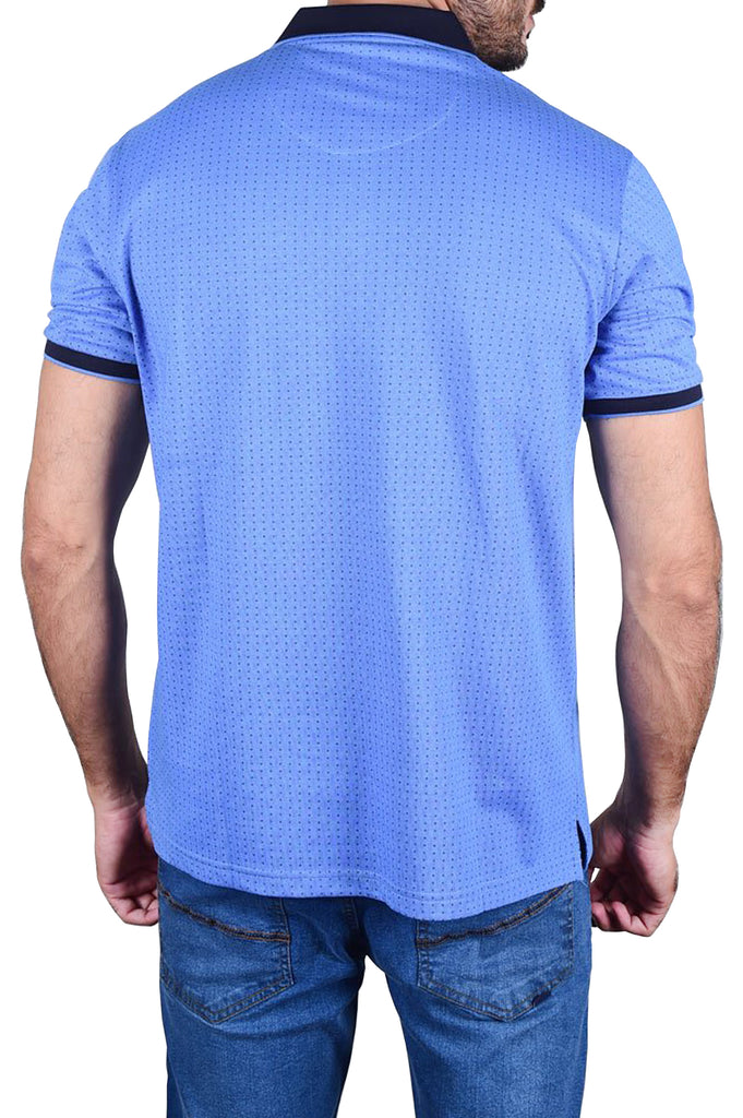 Diner's Men's Polo T-Shirt SKU: NA650-Blue