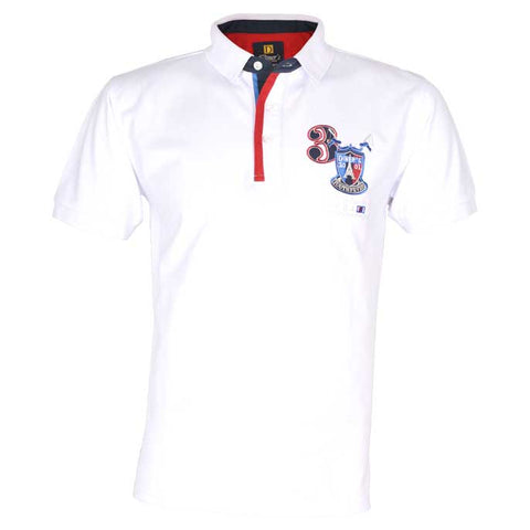 image of Diner's Men's Polo,Clearance T-Shirt SKU: NA484-WHITE