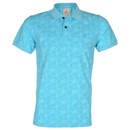 Men`s Polo T-Shirt in L-Blue SKU: NA491-L-Blue