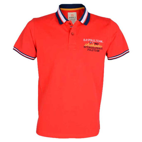 Diner's Men's Polo, T-Shirt SKU: NA505-RED