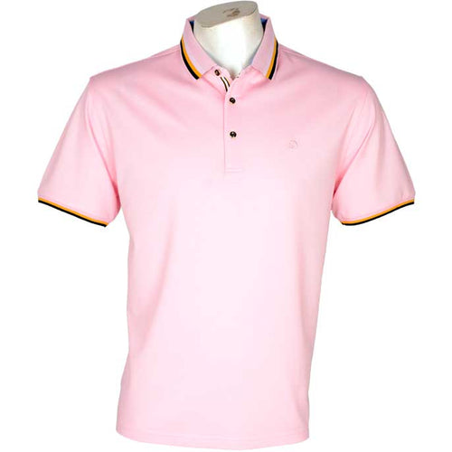 Diner's Men's Polo, T-Shirt SKU: NA523-PINK