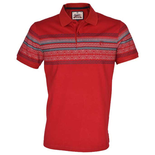 Diner's Men's Polo T-Shirt SKU: NA583-RED