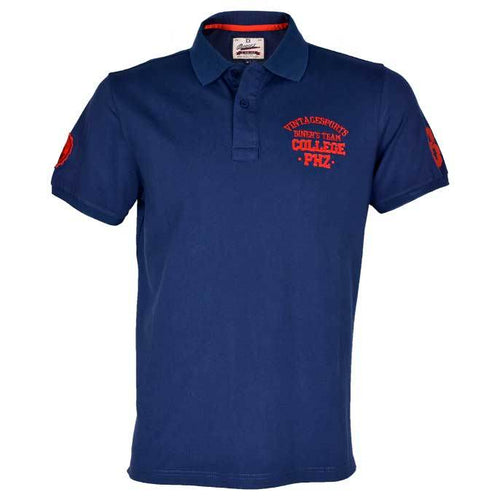 Diner's Men's Polo T-Shirt SKU: NA589-N-BLUE