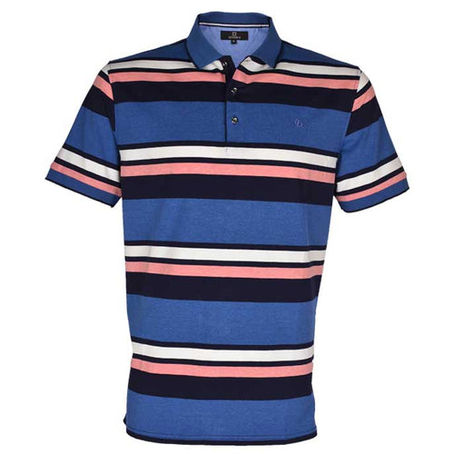 Diner's Men's Polo T-Shirt SKU: NA603-BLUE