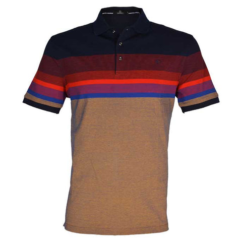 Diner's Men's Polo T-Shirt SKU: NA605-Rust