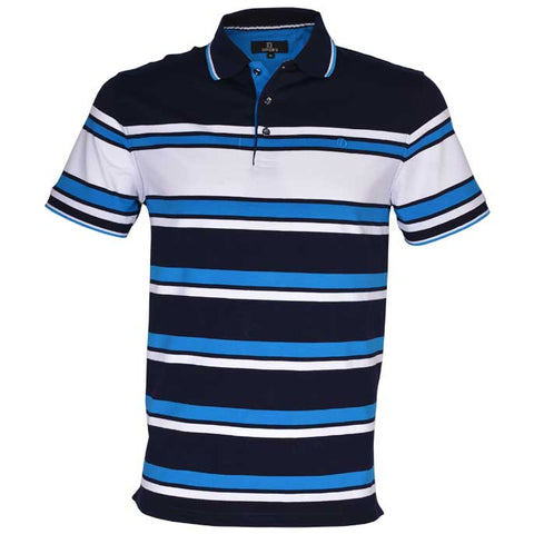 Diner's Men's Polo, T-Shirt SKU: NA607-Blue