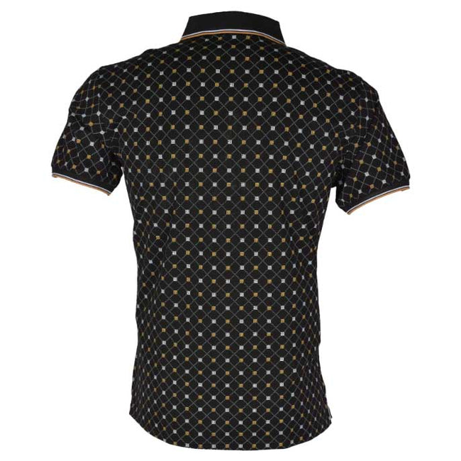 Diner's Men's Polo T-Shirt SKU: NA617-BLACK