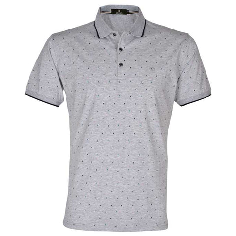 Diner's Men's Polo T-Shirt SKU: NA619-L-GREY