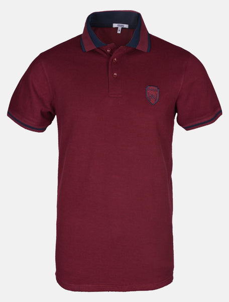 Diner's Men's Polo T-Shirt SKU: NA627-PLUM