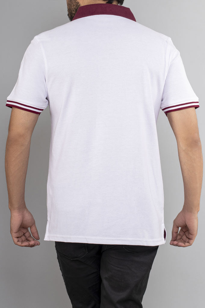 Diner's Men's Polo T-Shirt SKU: NA628-Plum