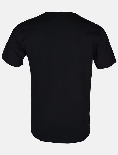 DINER`S CREW NECK T-SHIRT IN BLACK NA632-BLACK