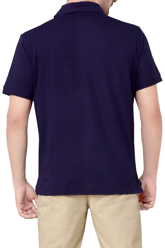 Diner's Men's Polo T-Shirt SKU: NA665-M-Blue
