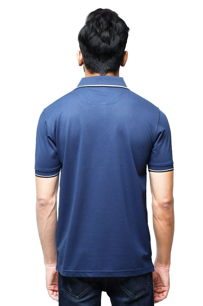 Diner's Men's Polo T-Shirt SKU: NA685-Blue - Diners