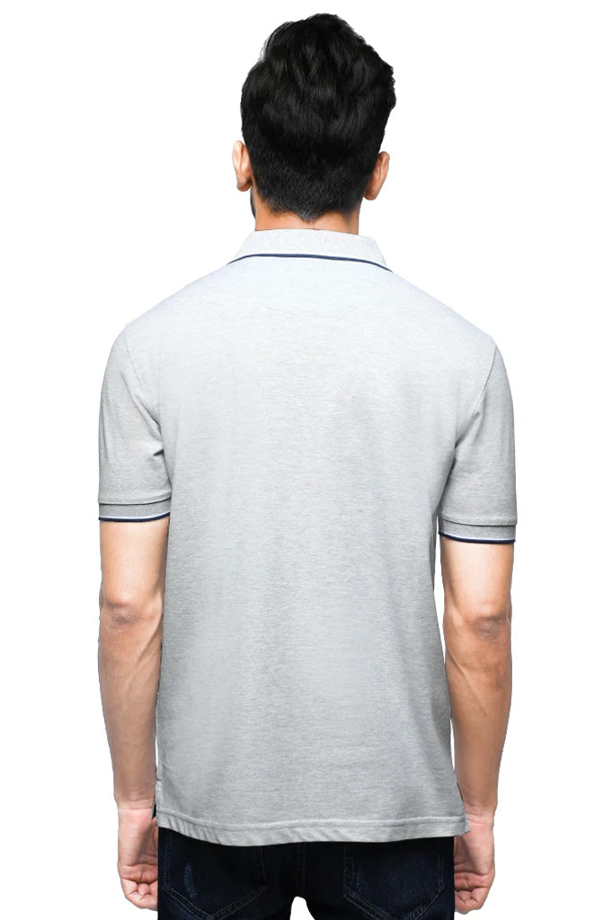 Diner's Men's Polo T-Shirt SKU: NA685-L-Grey - Diners