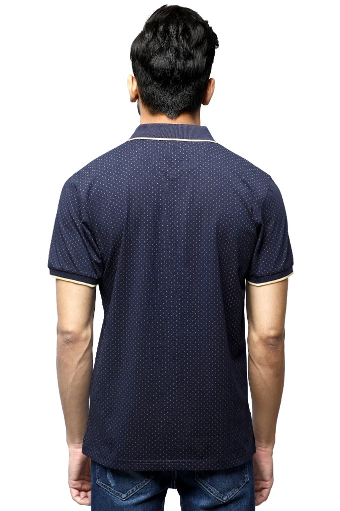 Diner's Men's Polo T-Shirt SKU: NA686-N-Blue