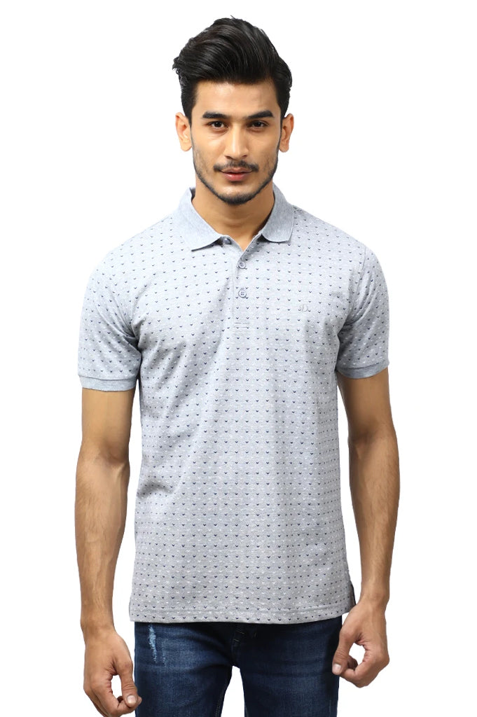 Diner's Men's Polo T-Shirt SKU: NA689-L-Grey