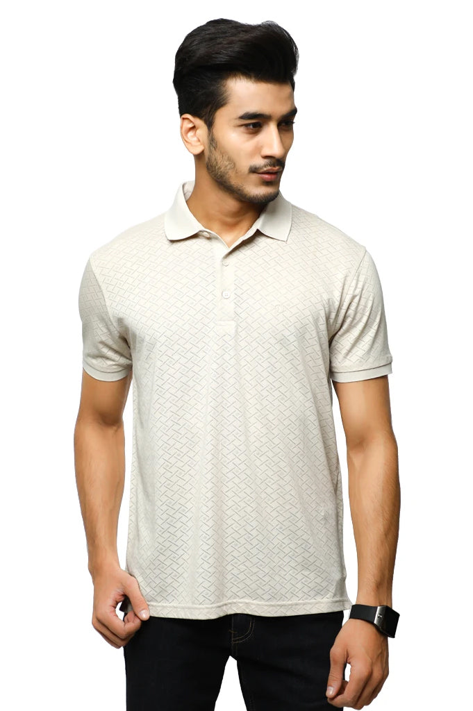 Diner's Men's Polo T-Shirt SKU: NA691-Fawn - Diners