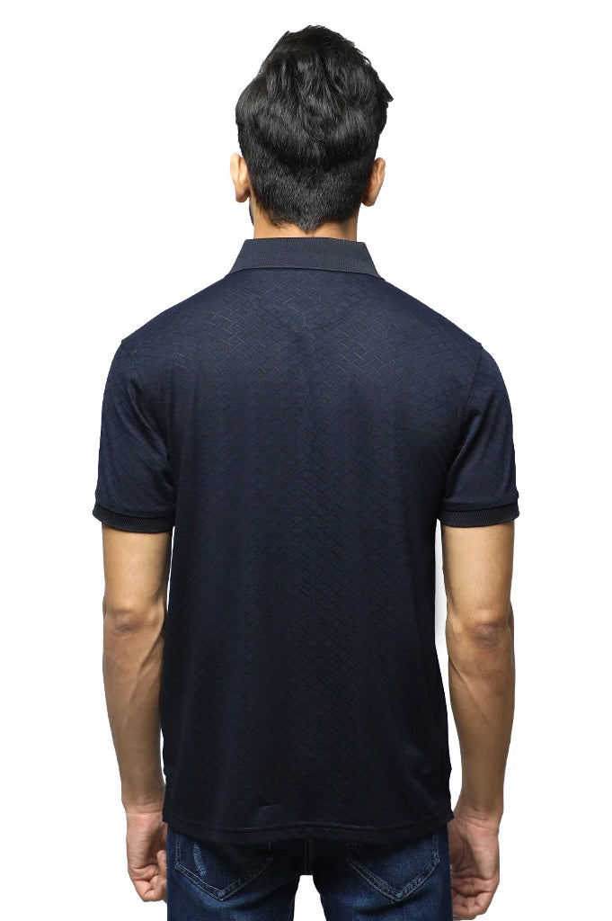 Diner's Men's Polo T-Shirt SKU: NA691-N-Blue