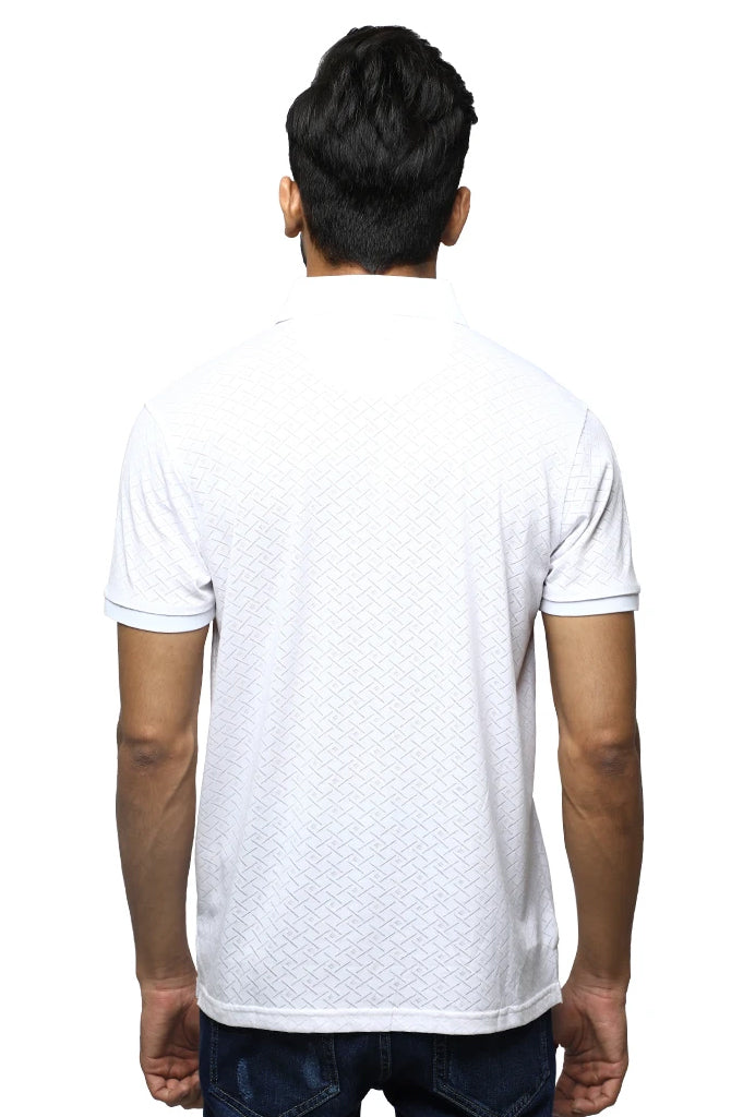 Diner's Men's Polo T-Shirt SKU: NA691-White