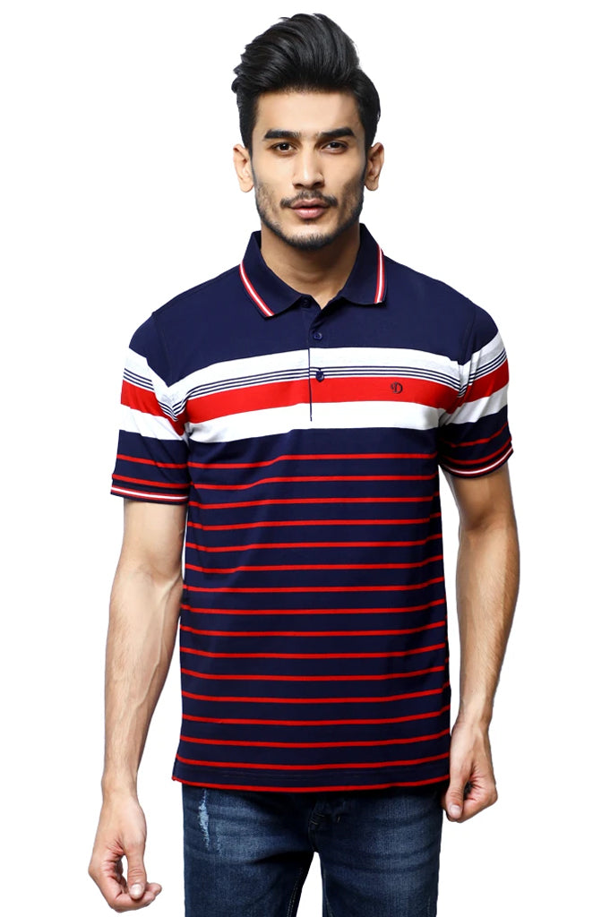 Diner's Men's Polo T-Shirt SKU: NA694-Red