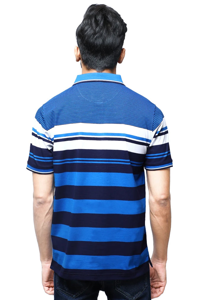Diner's Men's Polo T-Shirt SKU: NA696-Blue