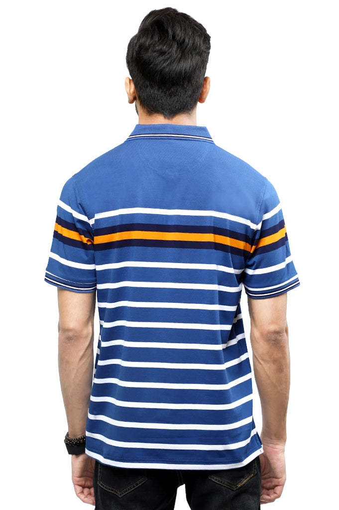 Diner's Men's Polo T-Shirt SKU: NA697-Blue