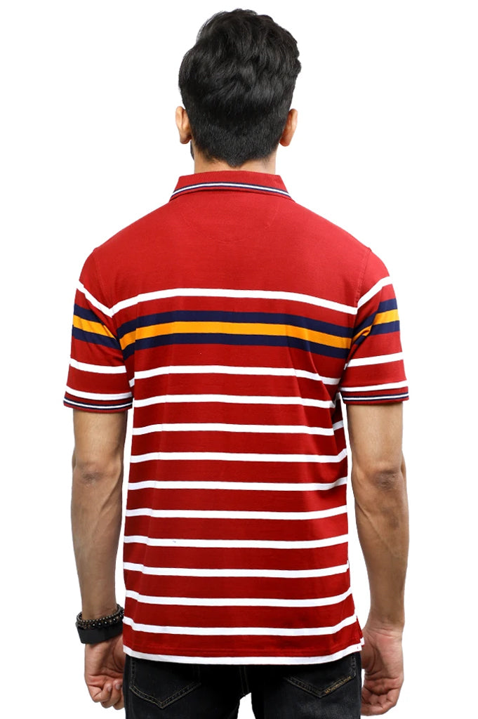 Diner's Men's Polo T-Shirt SKU: NA697-Red - Diners