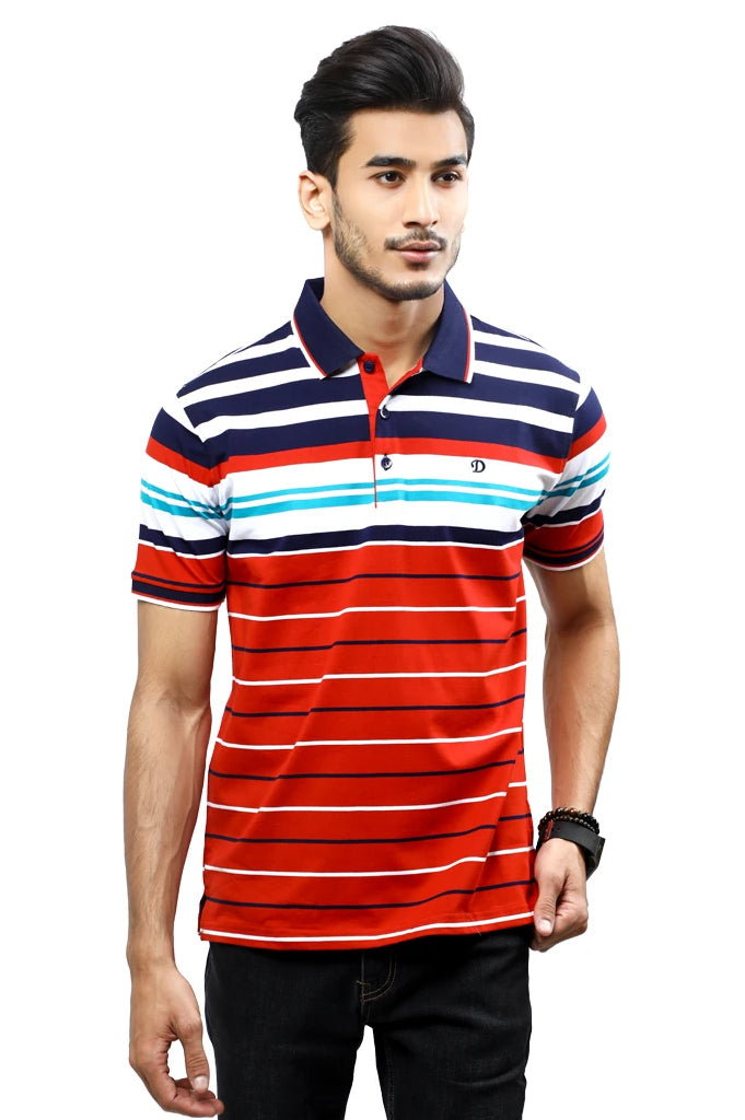 Diner's Men's Polo T-Shirt SKU: NA698-RED