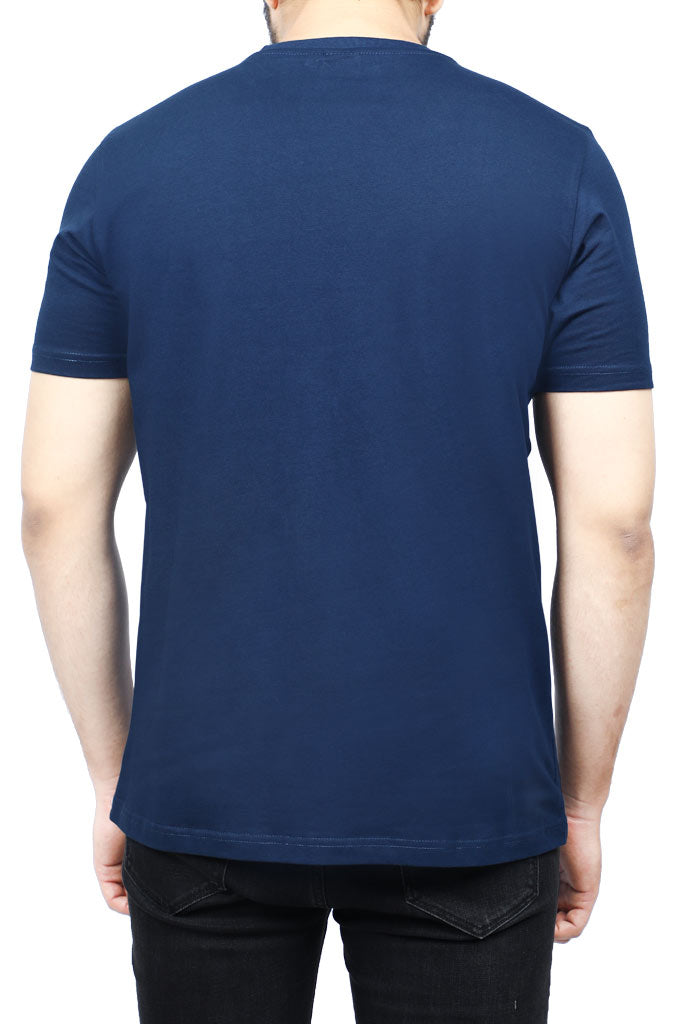 Diner's Men's Round Neck T-Shirt SKU: NA708-N-Blue