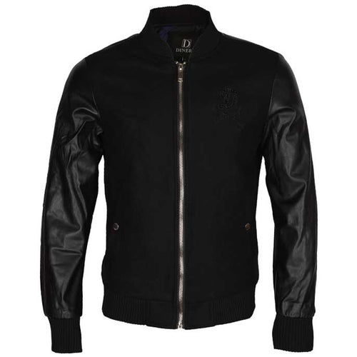 GENTS JACKET IN Black SKU: OA1254-BLACK