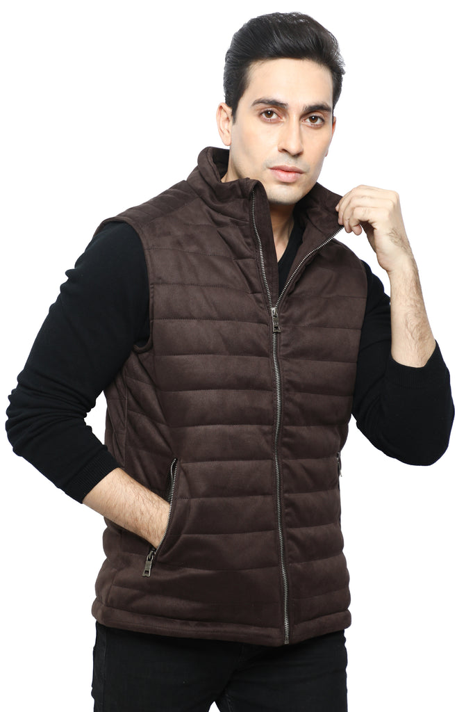 Gents Jacket SKU: OA1301-D-BROWN - Diners